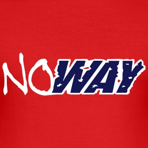 no_way_vec_2 nl T-shirts - slim fit T-shirt