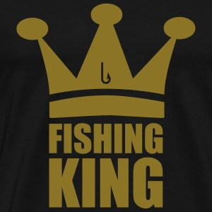 Fishing King T-skjorter - Premium T-skjorte for menn