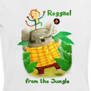Reggae from The Jungle T-Shirts - Women's Ringer T-Shirt