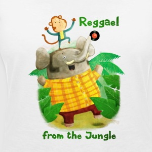 Reggae from The Jungle T-Shirts - Women's V-Neck T-Shirt