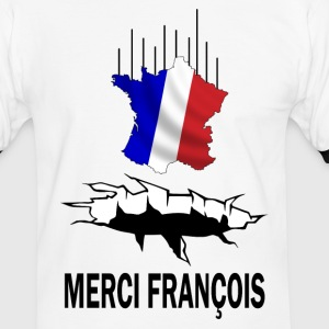 france crise Tee shirts - T-shirt contraste Homme