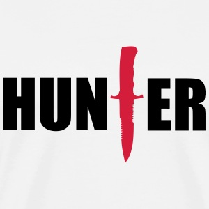 Hunter T-shirts - Mannen Premium T-shirt
