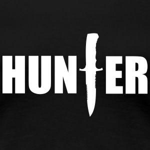 Hunter T-shirts - Vrouwen Premium T-shirt
