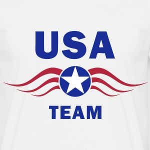 usa fly team Tee shirts - T-shirt Homme