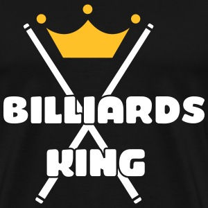Billiards King T-shirts - Herre premium T-shirt