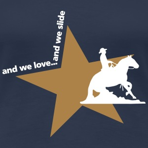 and we love and we slide T-Shirts - Frauen Premium T-Shirt