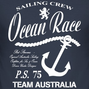 Seiling - Ocean Sailing T-skjorter - Slim Fit T-skjorte for menn