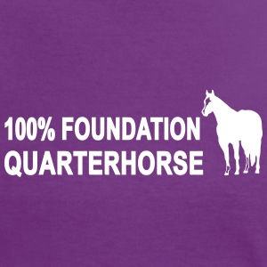 100% Foundation Quarter Horse T-Shirts - Frauen Kontrast-T-Shirt