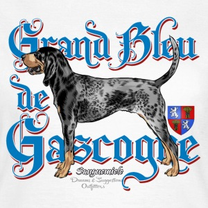 grand bleu de gascogne T-Shirts - Frauen T-Shirt