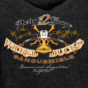 wicked ducks no backgroun Pullover & Hoodies - Männer Premium Hoodie