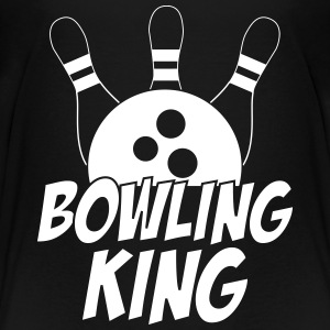 Bowling King T-shirts - Teenager premium T-shirt