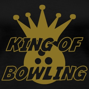 King of Bowling T-skjorter - Premium T-skjorte for kvinner