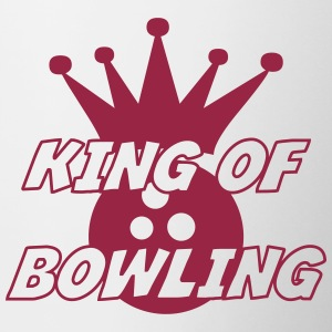 King of Bowling Flasker & krus - Tofarvet krus