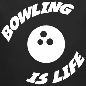 Bowling is life ! Pullover & Hoodies - Baby Bio-Langarm-Body