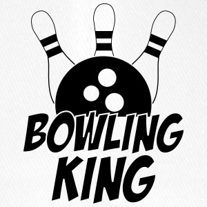 Bowling King Caps & Hats - Flexfit Baseball Cap