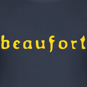beaufort_old_vec_1 T-Shirts - Men's Slim Fit T-Shirt