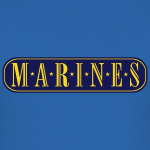 marines_vec_2 de T-Shirts - Männer Slim Fit T-Shirt