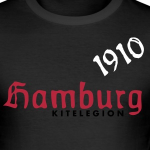 Hamburg 1910 de - Männer Slim Fit T-Shirt