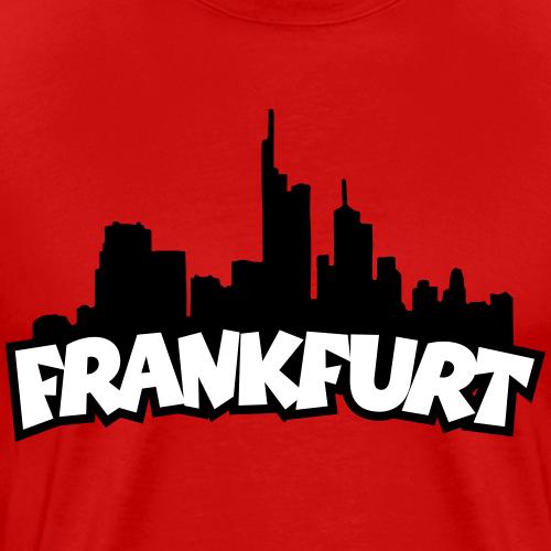 Frankfurt Skyline (Schwarz/Weiss)