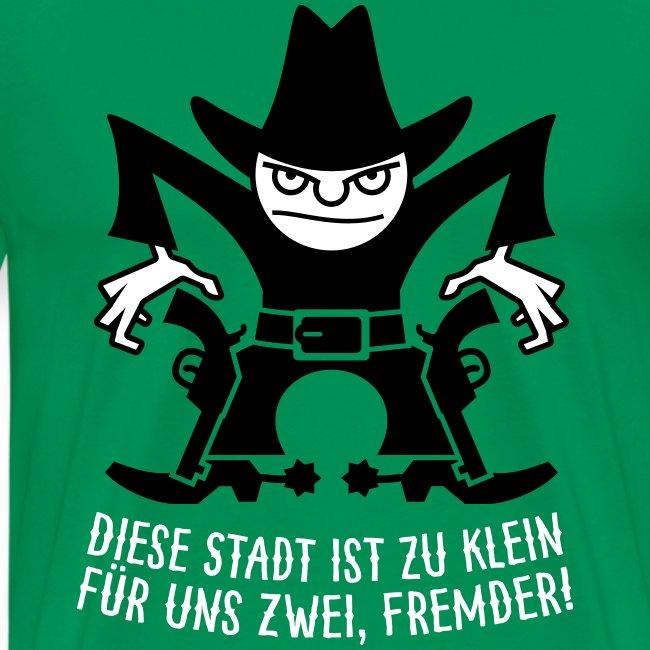 VL105C_Cowboy_2c_Schrift T-Shirts