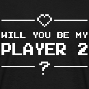 Will you be my player 2 Koszulki - Koszulka męska