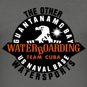 waterboarding_team_vec_3 T-Shirts - Männer Slim Fit T-Shirt