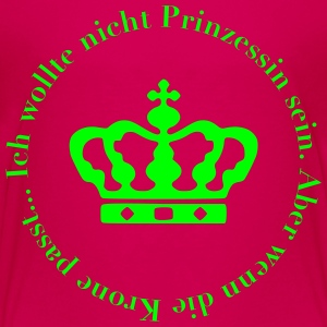 Prinzessin T-Shirts - Teenager Premium T-Shirt