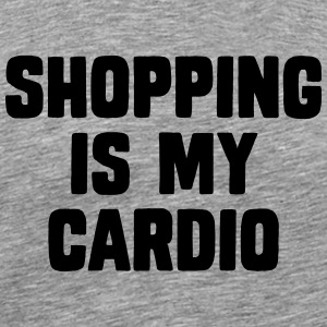 Shopping Is My Cardio T-Shirts - Männer Premium T-Shirt
