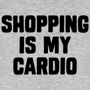 Shopping Is My Cardio T-Shirts - Männer Bio-T-Shirt