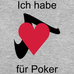 Poker Herz T-Shirts - Frauen Bio-T-Shirt