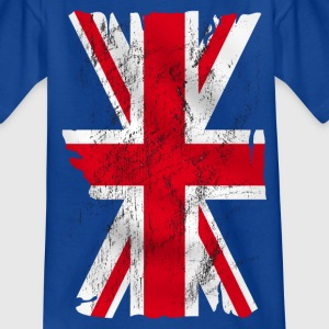 united kingdom grunge flag 02 Shirts - Teenage T-shirt