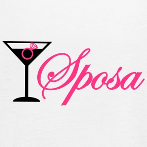 sposa cocktail con anelo Top - Top da donna della marca Bella