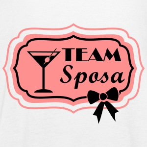 team sposa retro frame cocktail Top - Top da donna della marca Bella