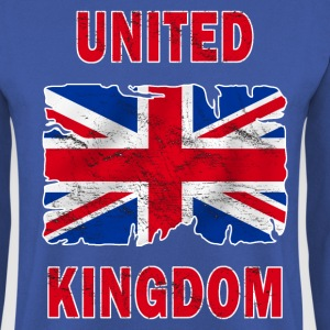 united kingdom grunge flag Hoodies & Sweatshirts - Men's Sweatshirt