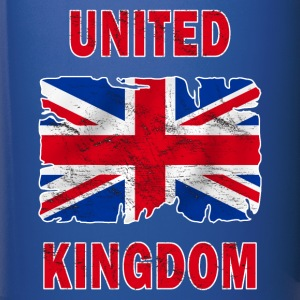 united kingdom grunge flag Bottles & Mugs - Full Colour Mug