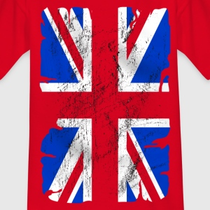 united kingdom grunge flag 03 Shirts - Teenage T-shirt