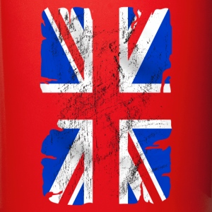 united kingdom grunge flag 03 Bottles & Mugs - Full Colour Mug