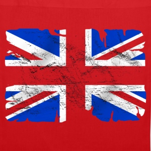 united kingdom grunge flag 03 Bags & Backpacks - Tote Bag