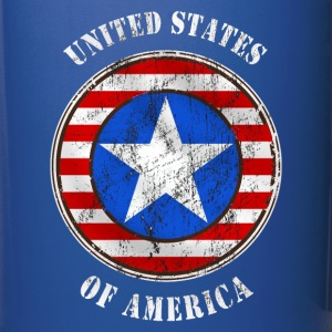 united states grunge style Bottles & Mugs - Full Colour Mug