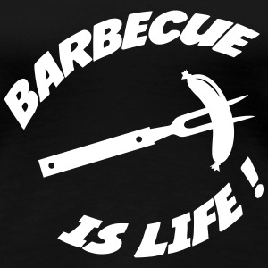 BBQ / Barbecue T-Shirts - Women's Premium T-Shirt