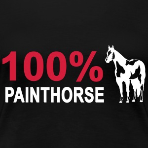 100% Painthorse T-Shirts - Frauen Premium T-Shirt