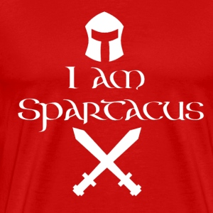 I am Spartacus - Men's Premium T-Shirt