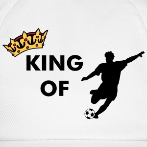 Crown / King of soccer / football Caps & Hats - Baseball Cap
