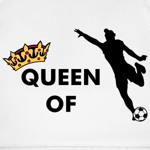 Crown / Queen of womens soccer Caps & Hats - Baseball Cap