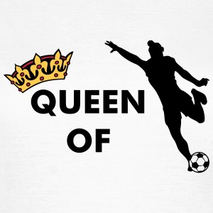 Crown / Queen of women's soccer - Women's T-Shirt