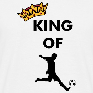 Crown / King of soccer / football T-Shirts - Men's T-Shirt