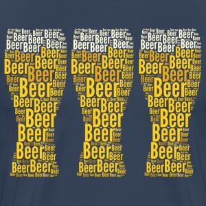 Three Beers - Men's Premium T-Shirt