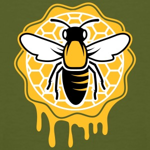a bee and honeycomb T-Shirts - Men's Organic T-shirt