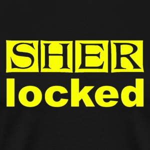 SHER-locked - Men's Premium T-Shirt