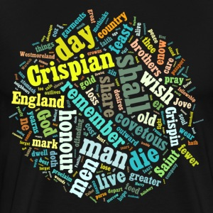 St Crispin's Day Speech - Men's Premium T-Shirt